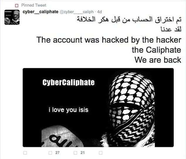 54,000 Twitter accounts hacked by ISIS member; Is anyone safe at all?