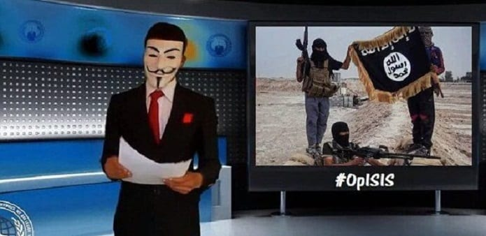 'You're a virus, we're the cure' Tells Anonymous to ISIS as it takes down 20,000 ISIS Twitter accounts