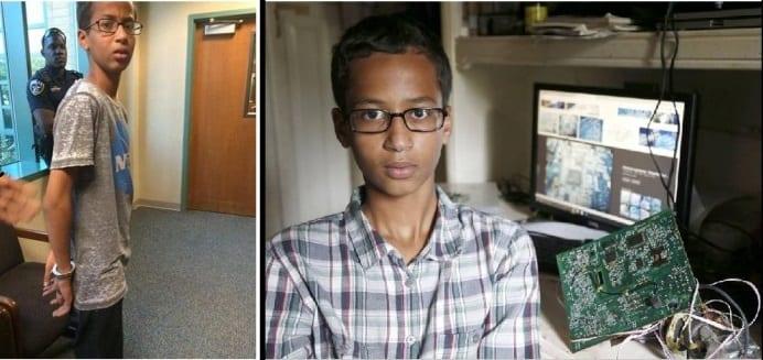 Ahmed Mohamed wants $15m in compensation over 'clock bomb' arrest