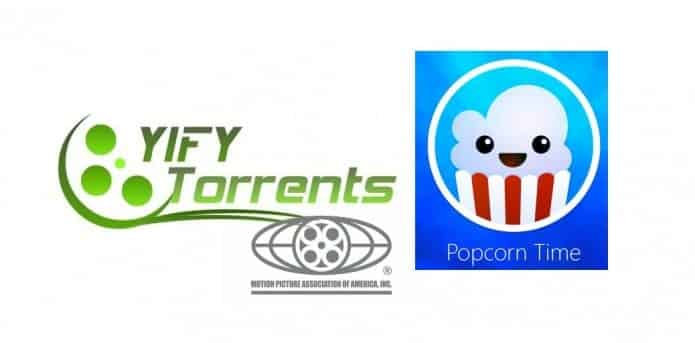 YIFY/YTS Torrents website and Popcorn Time were shut down by MPAA