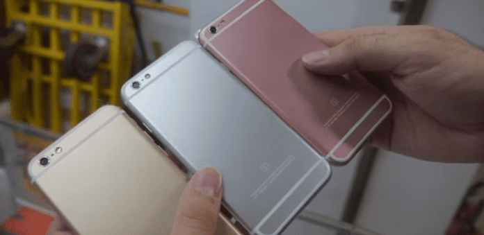 "Chinese firm unveils a iPhone 6s ""clone"" for an affordable price of $37"