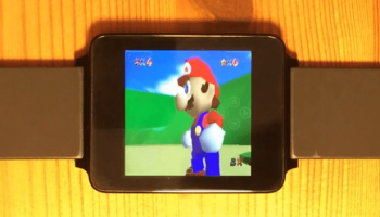 Nintendo Super Mario 64 can now be played on any 1.65-inch screen Android Wear