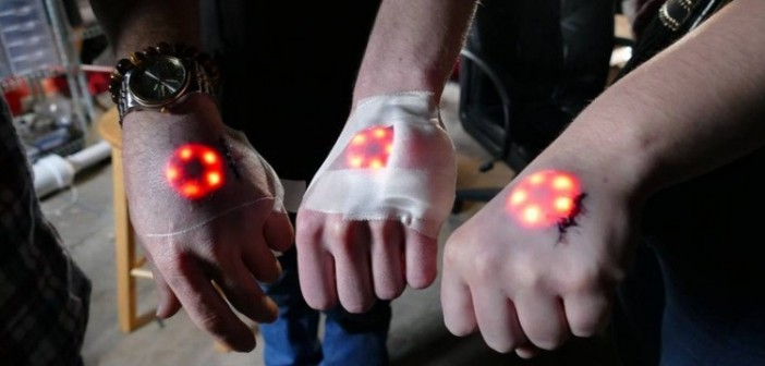 Biohackers implant LED's under their skin