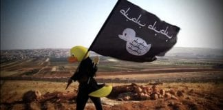 The world users unite to depict ISIS as rubber ducks
