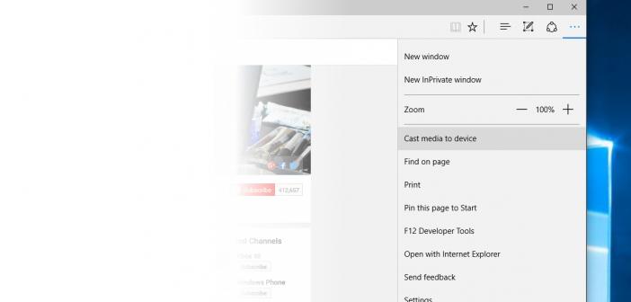 Microsoft s edge browser in latest windows 10 version can for Microsoft windows latest version