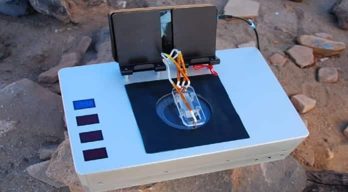 "NASA develops a ""chemical laptop"" to search for life on Mars"