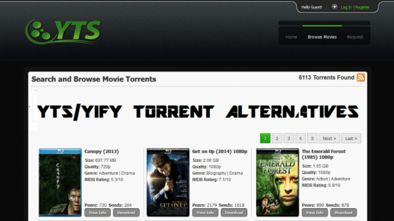 yify best movies 2017