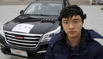 Chinese researchers unveil brain-powered car