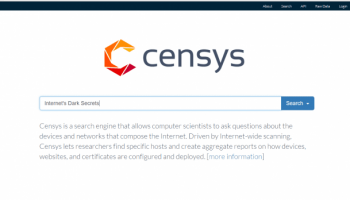 "Google powered ""Censys"", a search engine devoted to mapping Internet's dark secrets"