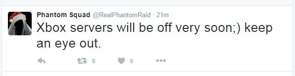 EA servers go down, company issues apology even as Phantom Squad claim responsibility