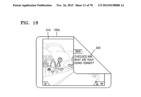 Samsung Files Yet Another Patent, This Time For A Foldable/Rollable Device