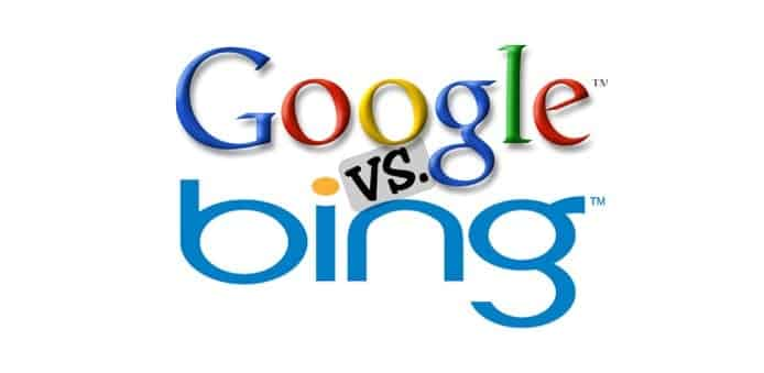 Google Search declines as Microsoft's Bing search engine keeps growing and AOL search still exists
