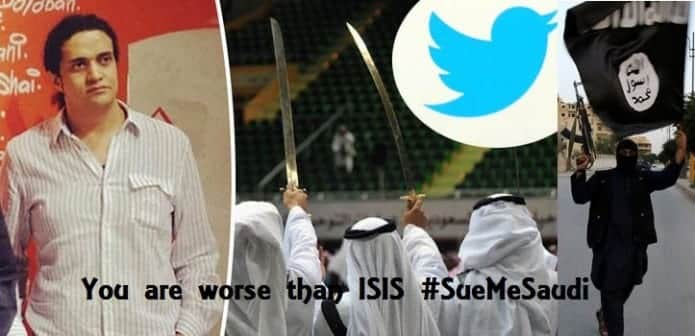 Saudi Arabia's threat to sue people who compare them to ISIS gets trolled globally with #SueMeSaudi trend