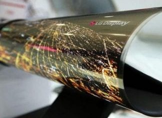 LG has made a foldable 18-inch OLED panel which can be rolled up like a newspaper