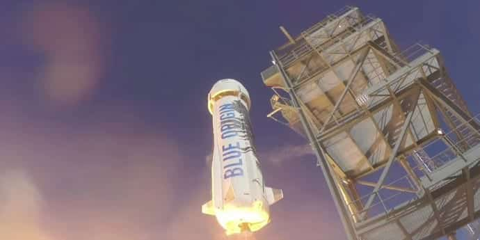 Blue Origin Launches Rocket Into Space and Lands It Safely for 2nd Time