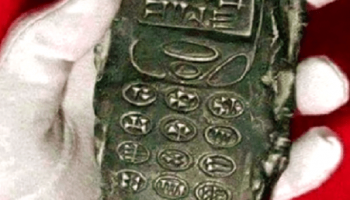 Truth about '800-year-old mobile phone' that was left behind by Aliens