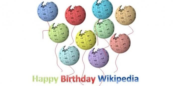 Wikipedia turns 15-year-old today, wishing it a very happy birthday