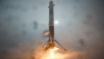 SpaceX's rocket explodes on landing after delivering satellite to space (Video)