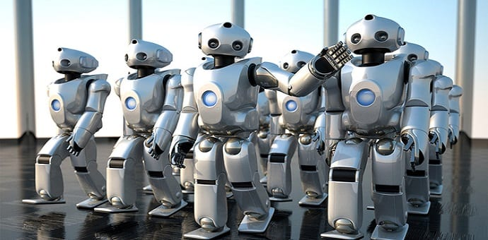 Robots will take over five million human jobs by 2020