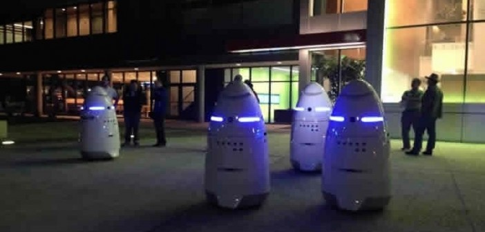 Crime-Fighting Robots Now Patrolling The Streets Of California