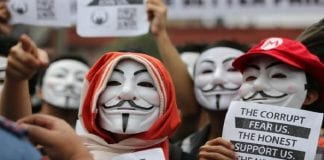 Anonymous Hong Kong warns China of mass cyber attacks over missing book publisher
