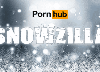 Americans watched a lot of porn during the recent 'Snowzilla' blizzard, Pornhub reports