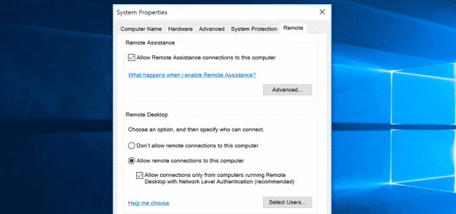 This how you can turn on Remote Desktop in your Windows 10/7/8 1