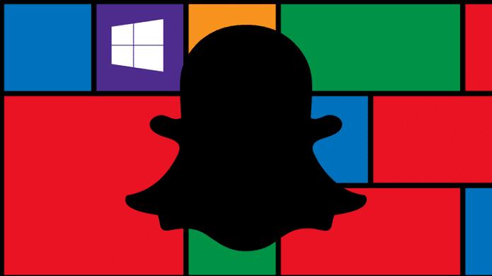 Snapchat, Microsoft, Windows Phones