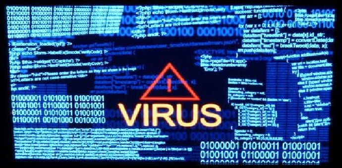 This is what computer viruses from the '80s and '90s looked like