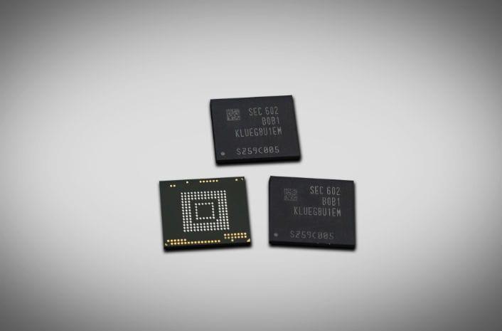 Samsung introduces 256GB UFS storage for future smartphones