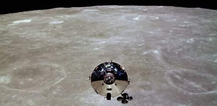 Apollo 10 astronauts heard alien music on the dark side of the moon