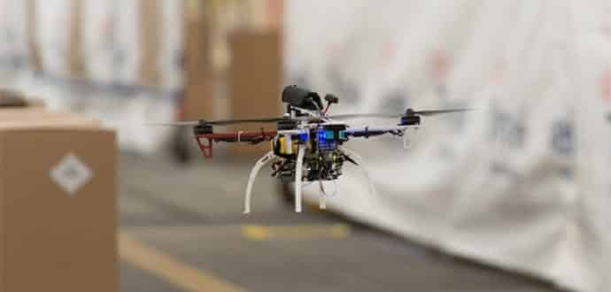Watch this teeny DARPA drone fly at 45 miles per hour in a warehouse