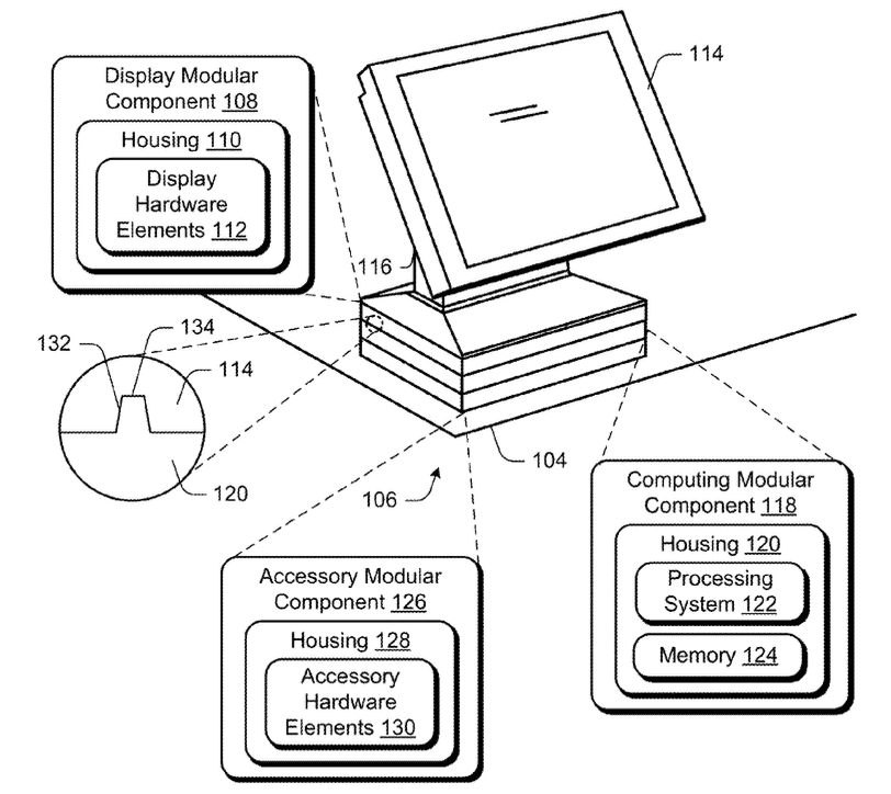 Microsoft-modular-computing-device-stackable