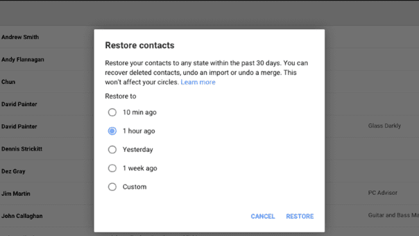 How to recover lost contacts on Android smartphones using GmailHow to recover lost contacts on Android smartphones using Gmail
