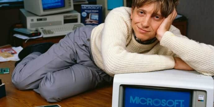 Have you seen Bill Gates dancing? Watch this video at the time of Windows 95 launch