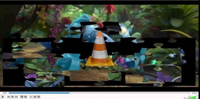 How to turn any video into an interactive puzzle in VLC media player