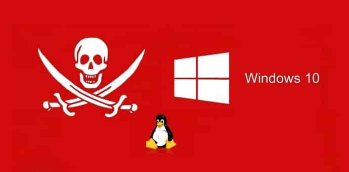 Piracy helping Windows gain market share over Linux
