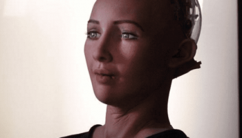 Robot Lady Cheerfully Agrees To Destroy Humans