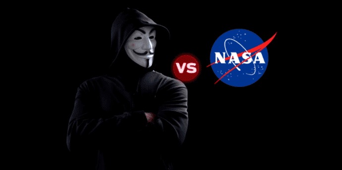 Anonymous hackers bring down NASA's website for hiding information on ISIS