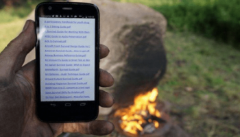 This Rock Has A Fire-Powered Wi-Fi Router
