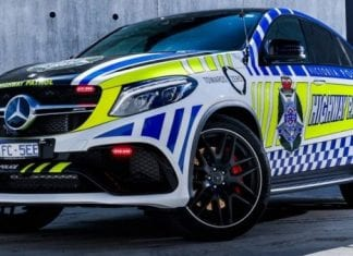 Victoria Police are proud owners of $200,000 Mercedes GLE63 AMG SUV Coupe