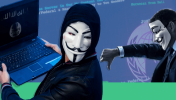 Anonymous says Twitter taking down their accounts for 'harassing' ISIS