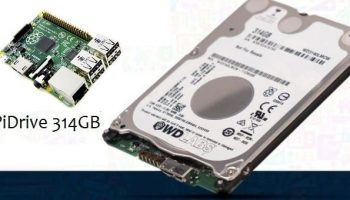This PiDrive will add 314GB of storage to your Raspberry Pi
