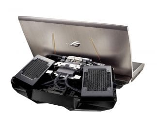 Asus ROG GX700: The world's first watercooled gaming laptop starts its pre-orders