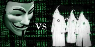 KKK Website Shut Down by Anonymous Ghost Squad's DDoS Attack
