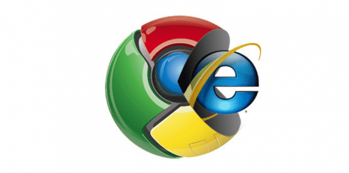 Internet Explorer still the most used browser, but will soon lose to Google's Chrome