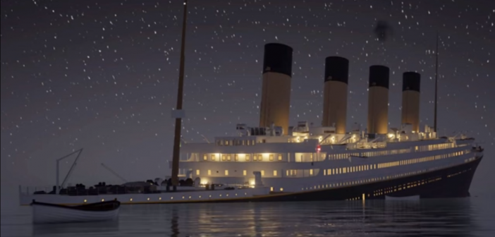 Check out the Titanic sink in real time in this spooky animated recreation (Video)