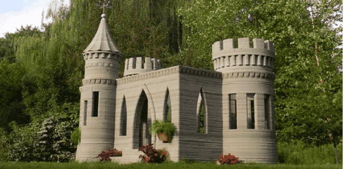 Andrey Rudenko's 3D Printed Concrete Castle Is Complete