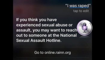 Siri updated by Apple to respond to sexual assault and domestic abuse