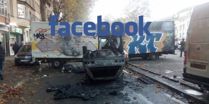 Irishman tags himself in riot photos on Facebook, gets two years jail
